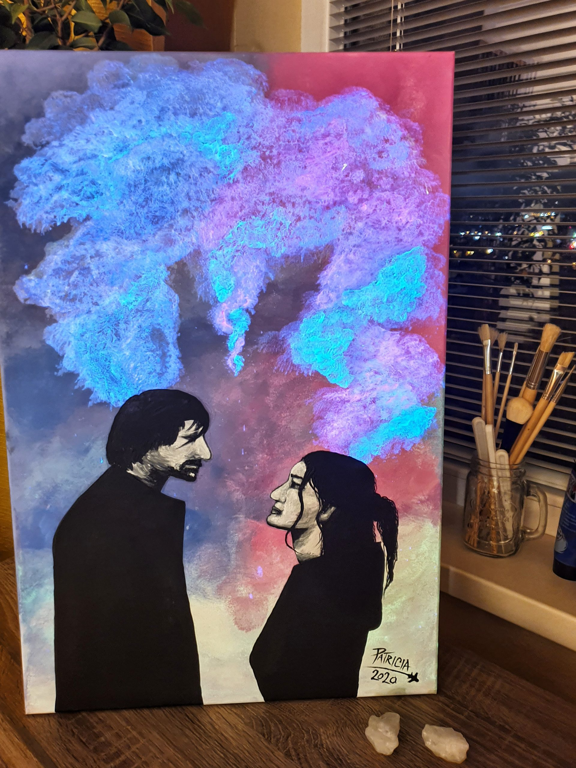 Patricia Art glowing painting
